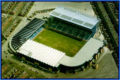 Maine Road with the new Kippax